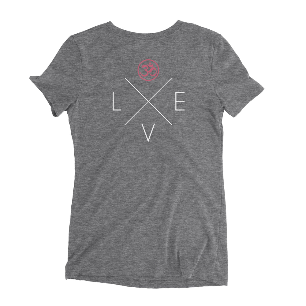 """Love"" Ladies' Triblend T-Shirt"