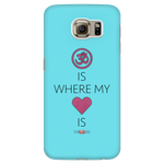 """Om Is Where My Heart Is"" Phone Case - Galaxy/iPhone"