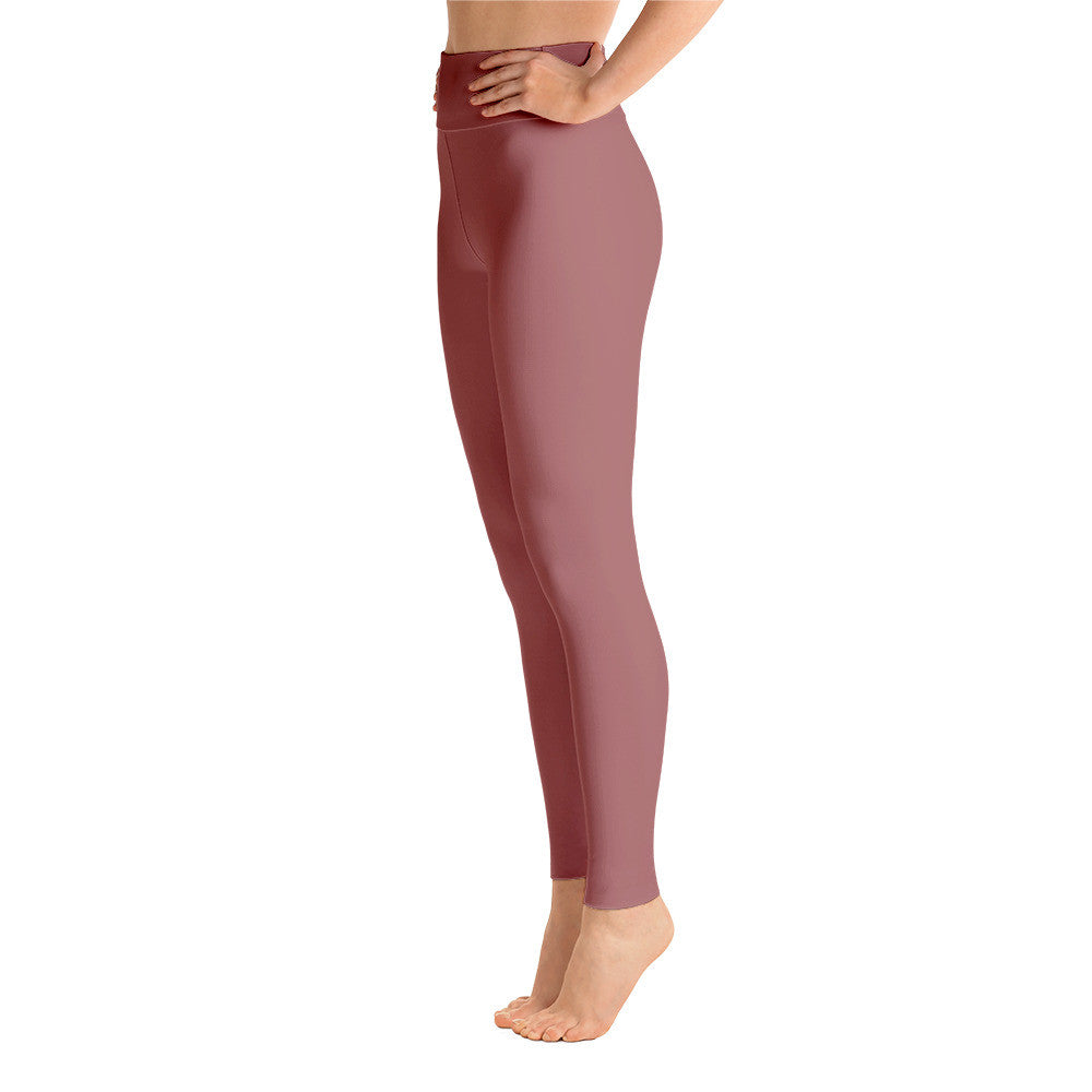 """Basic Pink"" Yoga Pants"