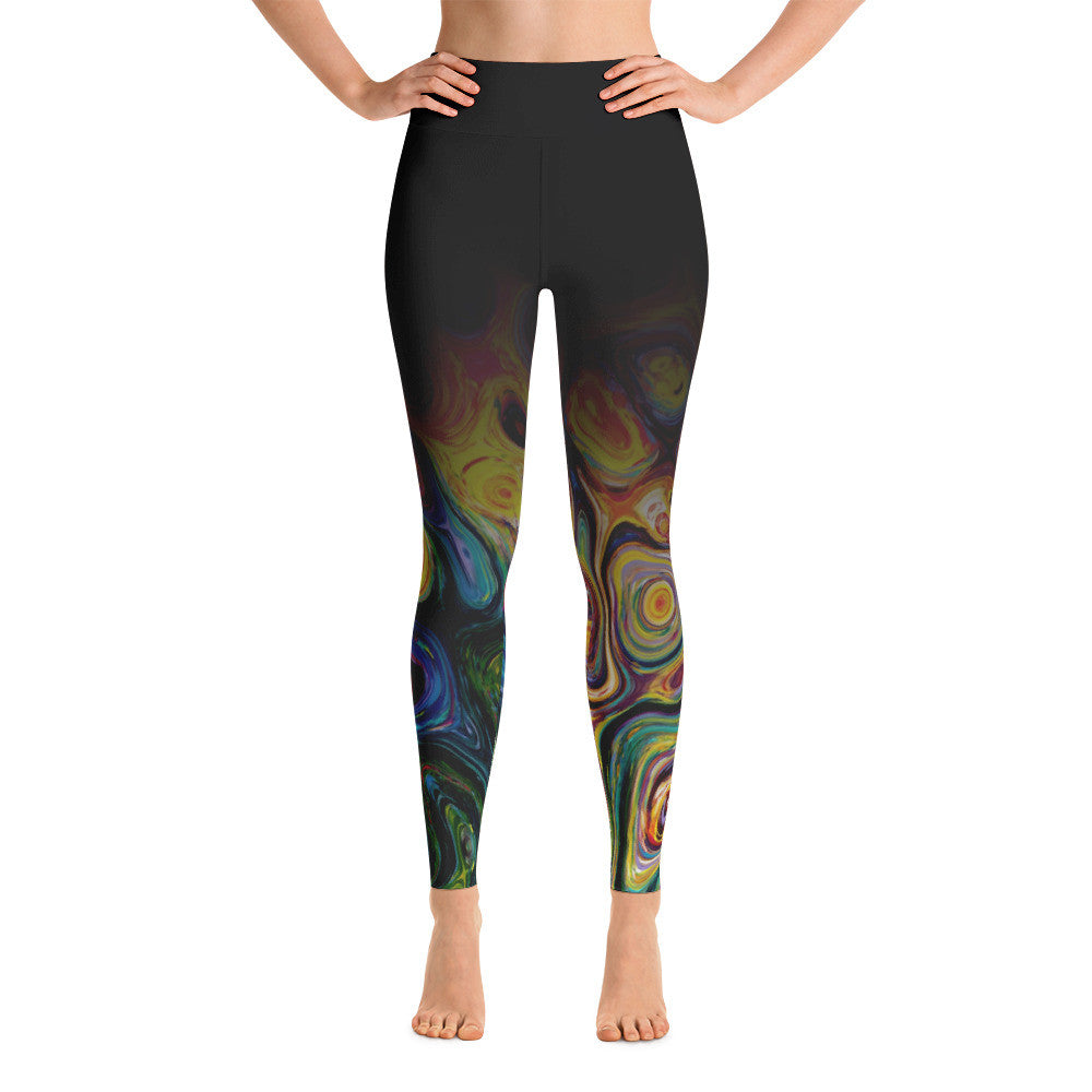 """Picasso Ombre"" Yoga Pants"