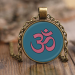 """Om"" Pendant Necklace"