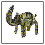Recycled Tin Can Elephant