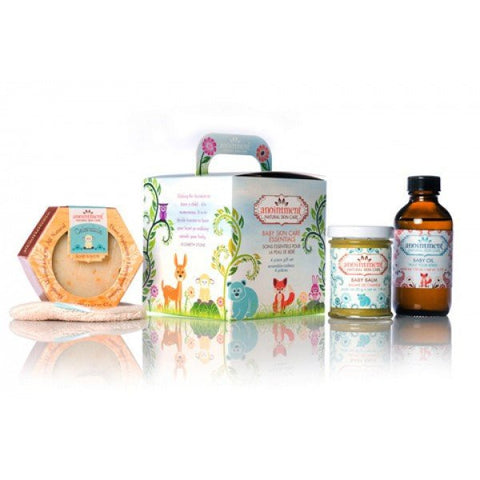 Baby Skin Care Essentials Gift Set