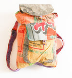Recycled Rice Bag Back Pack