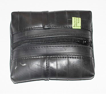 Recycled Inner Tube Zipper Pouch