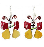 Takataka Collection Butterfly Earrings