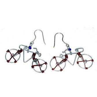 Takataka Collection Bicycle Earrings