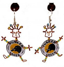 Takataka Collection Dancing Girl Tusker Earrings