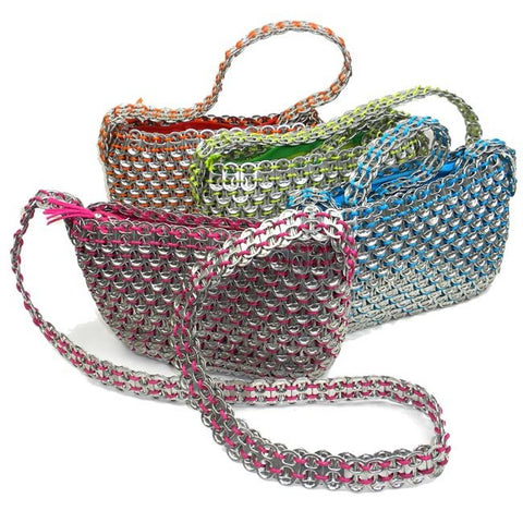 Colorful Serinita Recycled Soda Top Bag