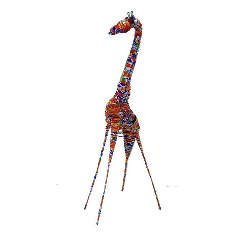 Recycled Tin Giraffe