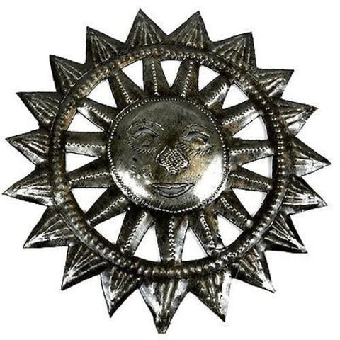 Small Sun Metal Wall Art