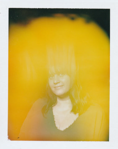 This is an aura photo by Halo Auragraphic of Sharon from Halo Auragraphic. Sharon's aura is all yellow.