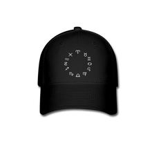Load image into Gallery viewer, Zodiac Circle Unisex Baseball Cap - black