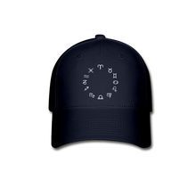 Load image into Gallery viewer, Zodiac Circle Unisex Baseball Cap - navy