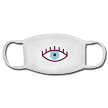 Load image into Gallery viewer, Third Eye Face Mask - white/white