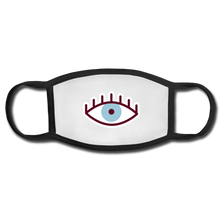 Load image into Gallery viewer, Third Eye Face Mask - white/black