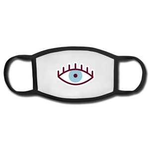 Third Eye Face Mask - white/black