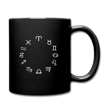Load image into Gallery viewer, Zodiac Circle Full Color Mug - black