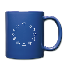 Load image into Gallery viewer, Zodiac Circle Full Color Mug - royal blue