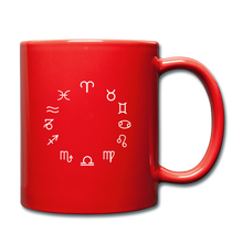 Load image into Gallery viewer, Zodiac Circle Full Color Mug - red