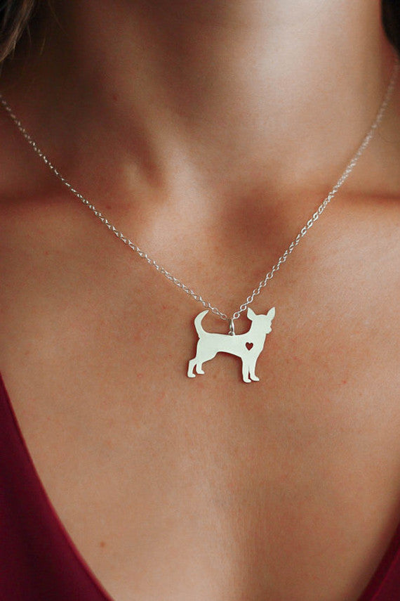 Chihuahua Pendant Necklace Offer