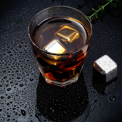 Stainless Steel Ice Cube Chilling Stones