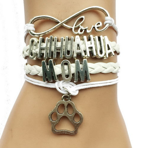Chihuahua Mom Breeds Paw Bracelet Offer
