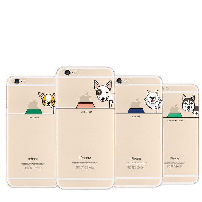 Dogs Signature Limited Case Cover Collection for iPhone 5/5Plus 6/6Plus