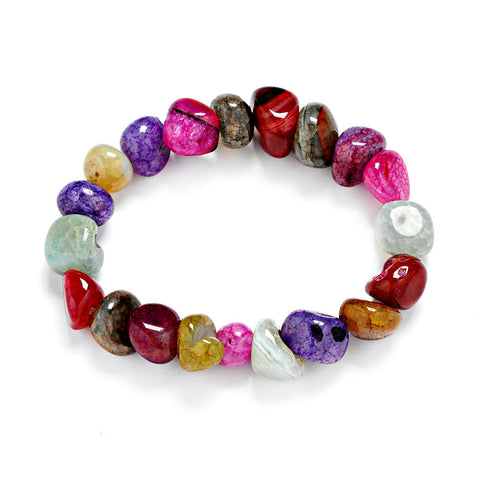 7 Chakra Nature Stones Energy Bracelet Offer
