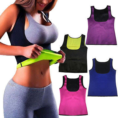 Hot Thermo Sport Body Suit Workout & Sauna Fitness Shapewear