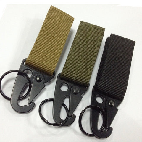 Outdoor Nylon Military Hook Climbing Carabiner