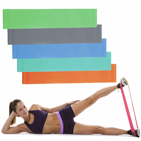 Yoga Fitness Resistance Band Strength Training