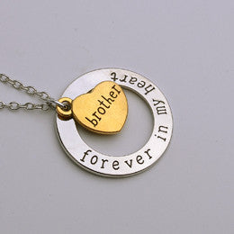 Forever In My Heart Pendant Necklace Gift