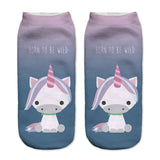Unicorn Socks in Several Cute and Magical Designs for Women and Girls Ankle Length Baby Sitting
