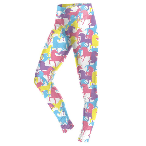 Multi-Color Unicorn Leggings