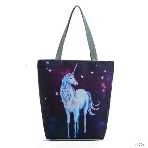 Unicorn Totebag - Four Designs to Choose From!