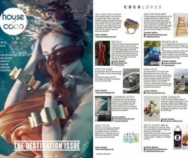 Viva Voce Intense Hydration Serum in House of Coco Magazine