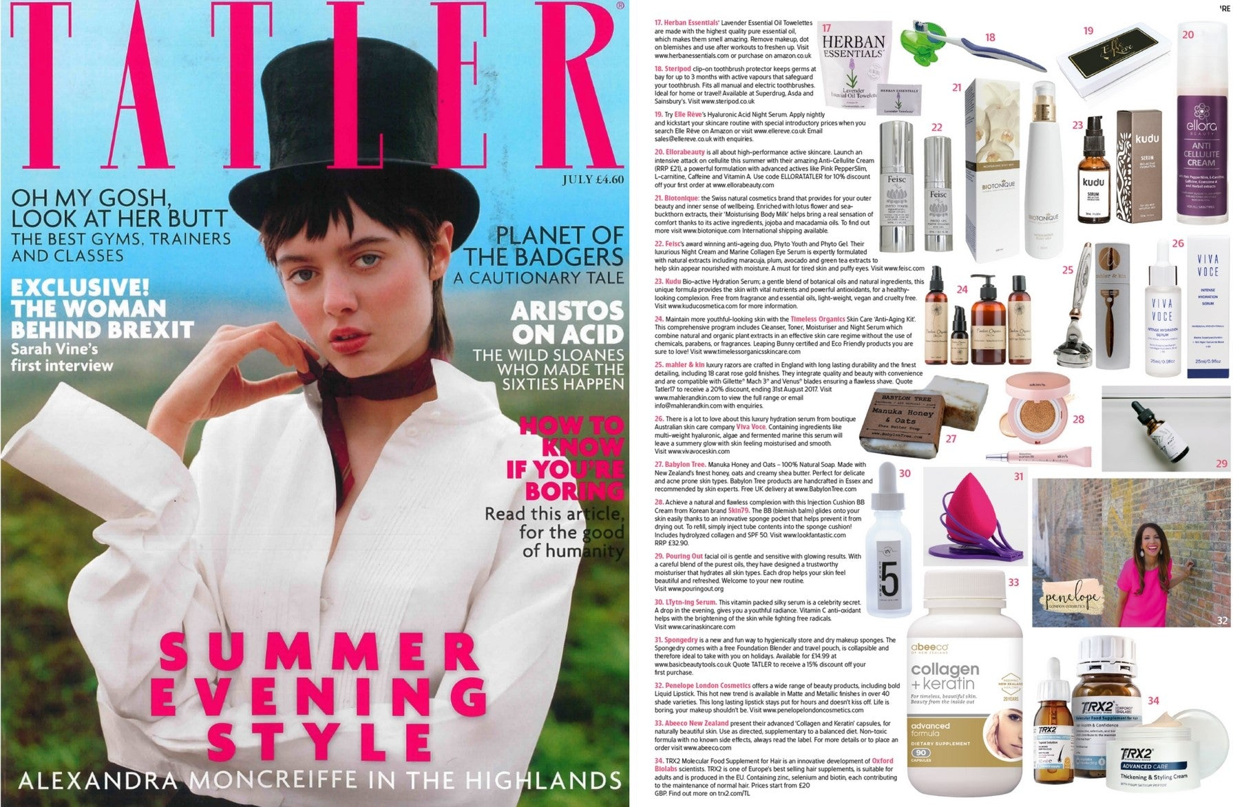 Viva Voce Tatler UK July 2017