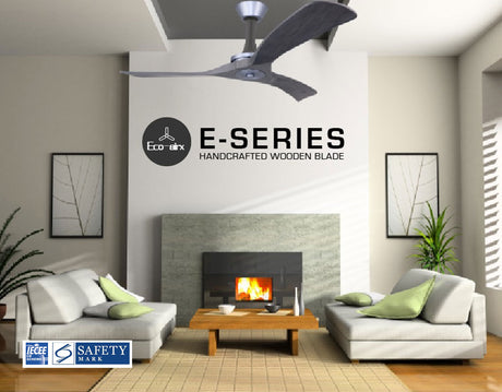 Eco Airx E-Series Ceiling Fan(Wooden Blades)