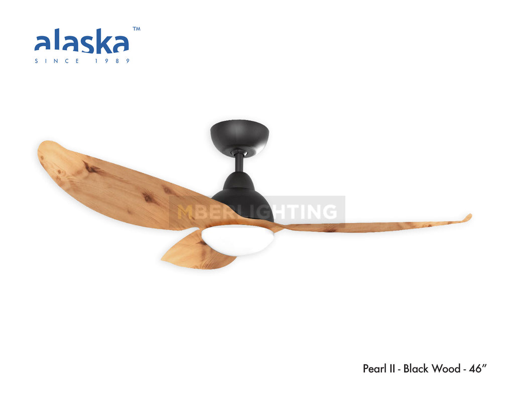 "Alaska PEARL II 46"" Black Light Wood"