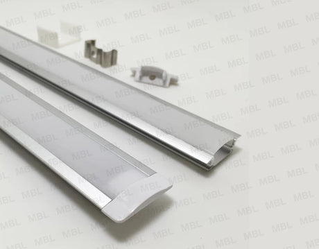 Aluminum Profile - 2meter (For LED Strips)