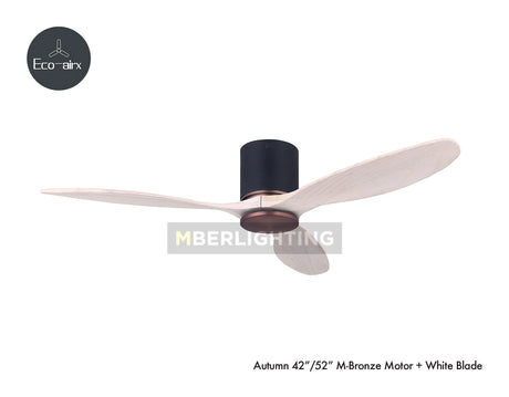 "Eco-Airx Autumn 42""/52""(M Model) Bronze-White"