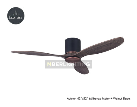 "Eco-Airx Autumn 42""/52""(M Model) Bronze-Walnut"