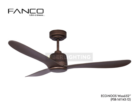 FANCO DC ECO-NOOS 52""