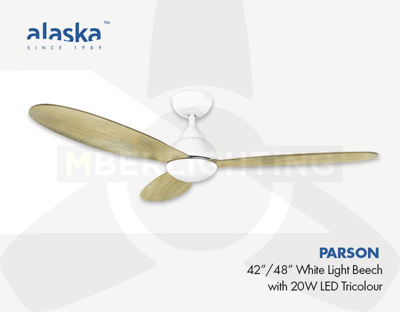 "Alaska PARSON 42""/48"" White Light Beech"