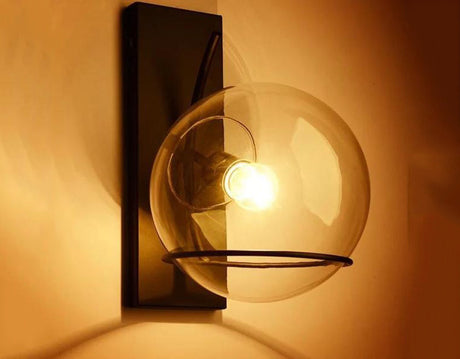 Wall light - Industrial Art Glass