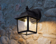Wall light - Vintage Glass Post