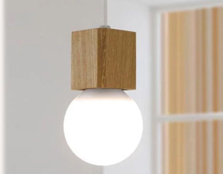 Pendant - Wooden Cube Holders