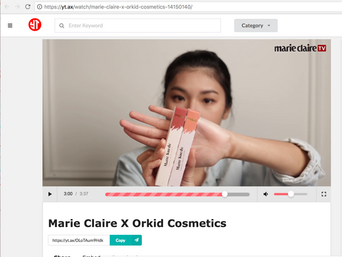marie claire x orkid cosmetics tutorial