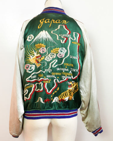 1940's Japanese reversible souvenir jacket